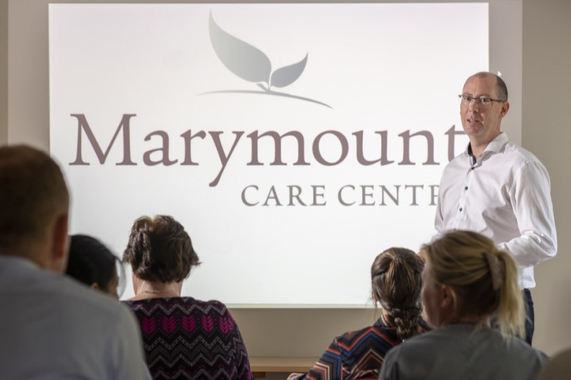 Marymount Care Centre - visitor presentation